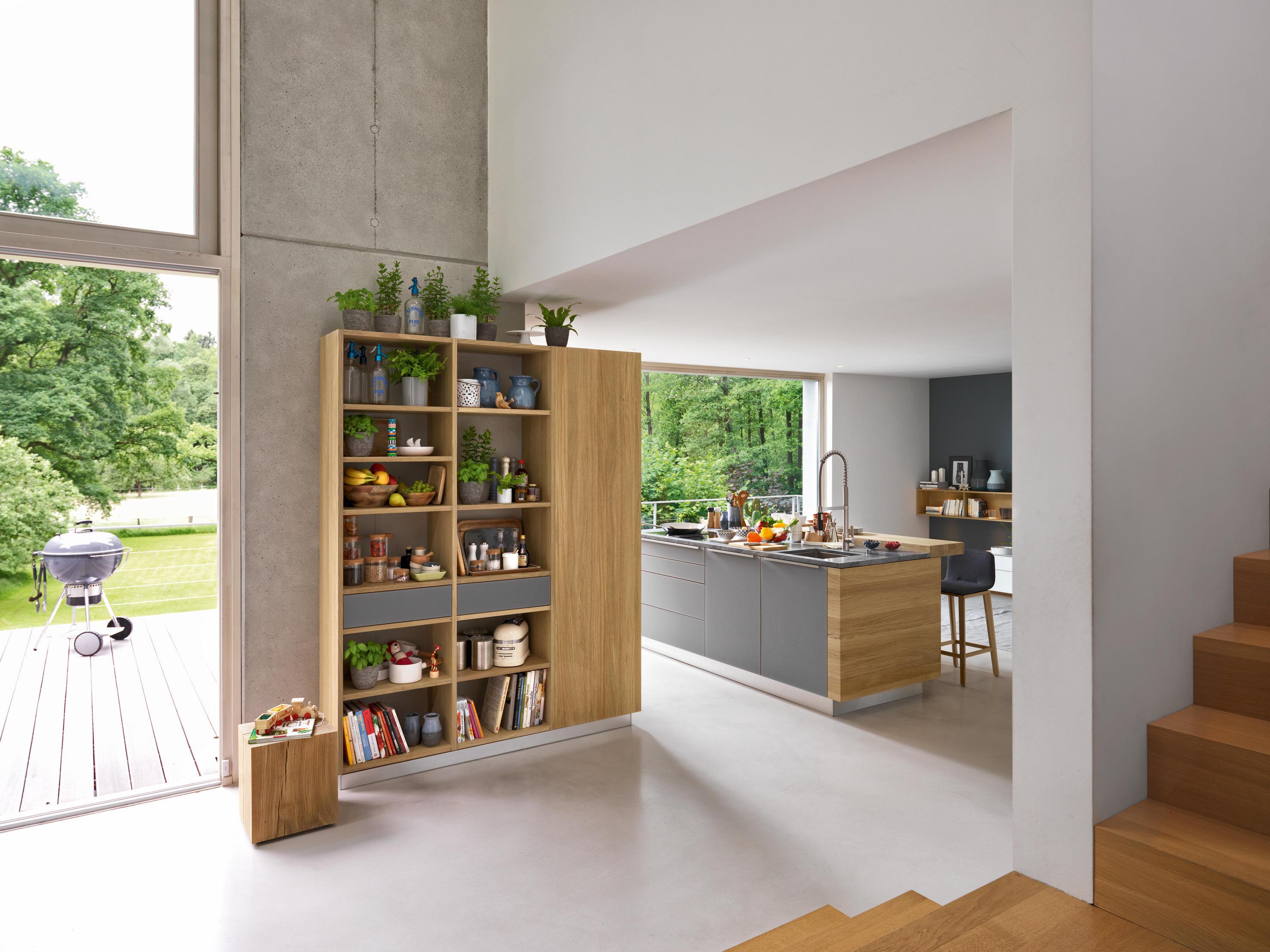 linee k che einbauk chen von team 7 architonic. Black Bedroom Furniture Sets. Home Design Ideas