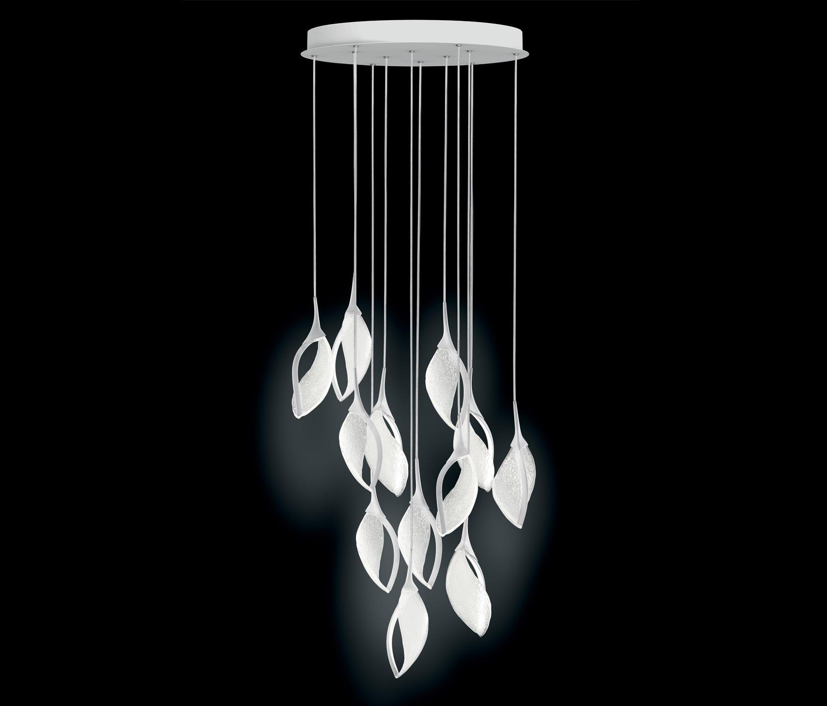 nia 12 s led pendelleuchten von leucos architonic. Black Bedroom Furniture Sets. Home Design Ideas