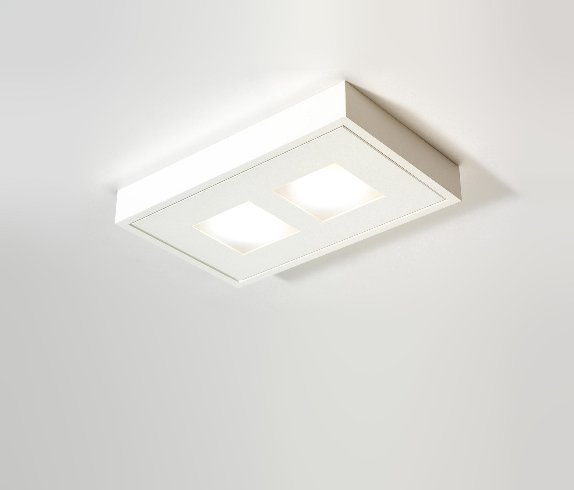 White Line Fix Duo Led Ceiling Lights From Pvd Concept
