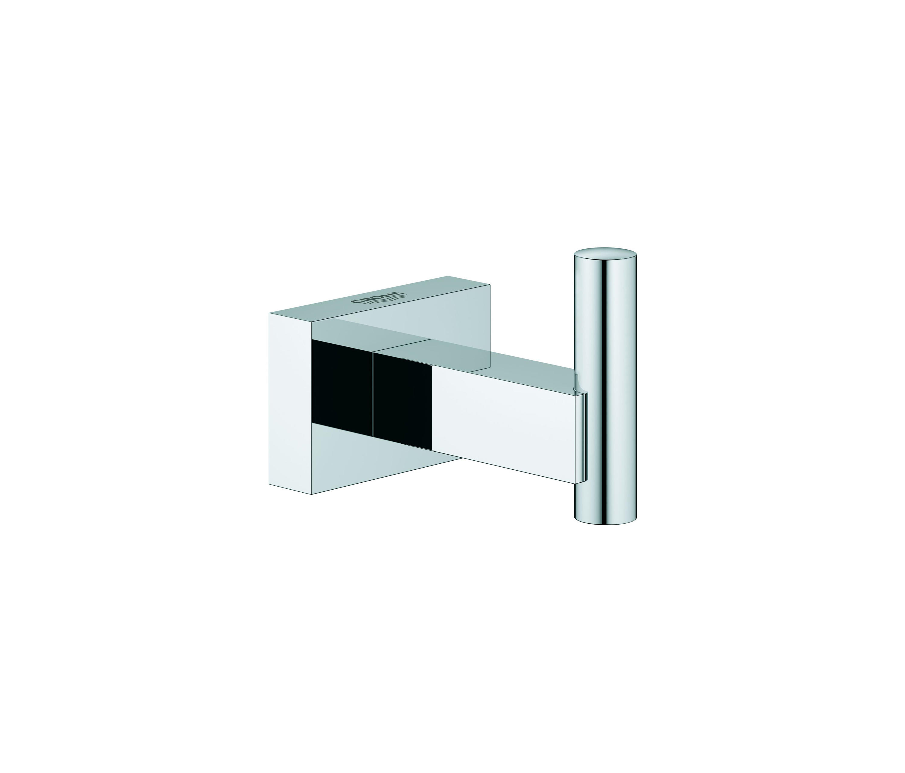 essentials cube robe hook wash basin taps from grohe architonic. Black Bedroom Furniture Sets. Home Design Ideas