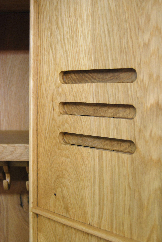 ... Locky 2 Solid Oak Cabinet By Tuttobene | Cabinets