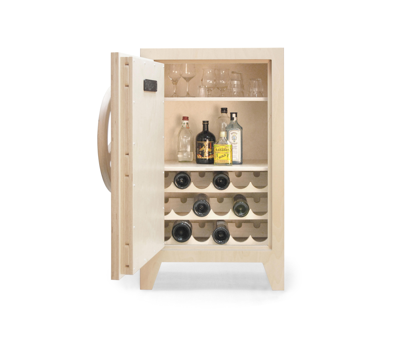 MR.KNOX SAFE CABINET BIRCHWOOD - Wine cabinets from Tuttobene ...