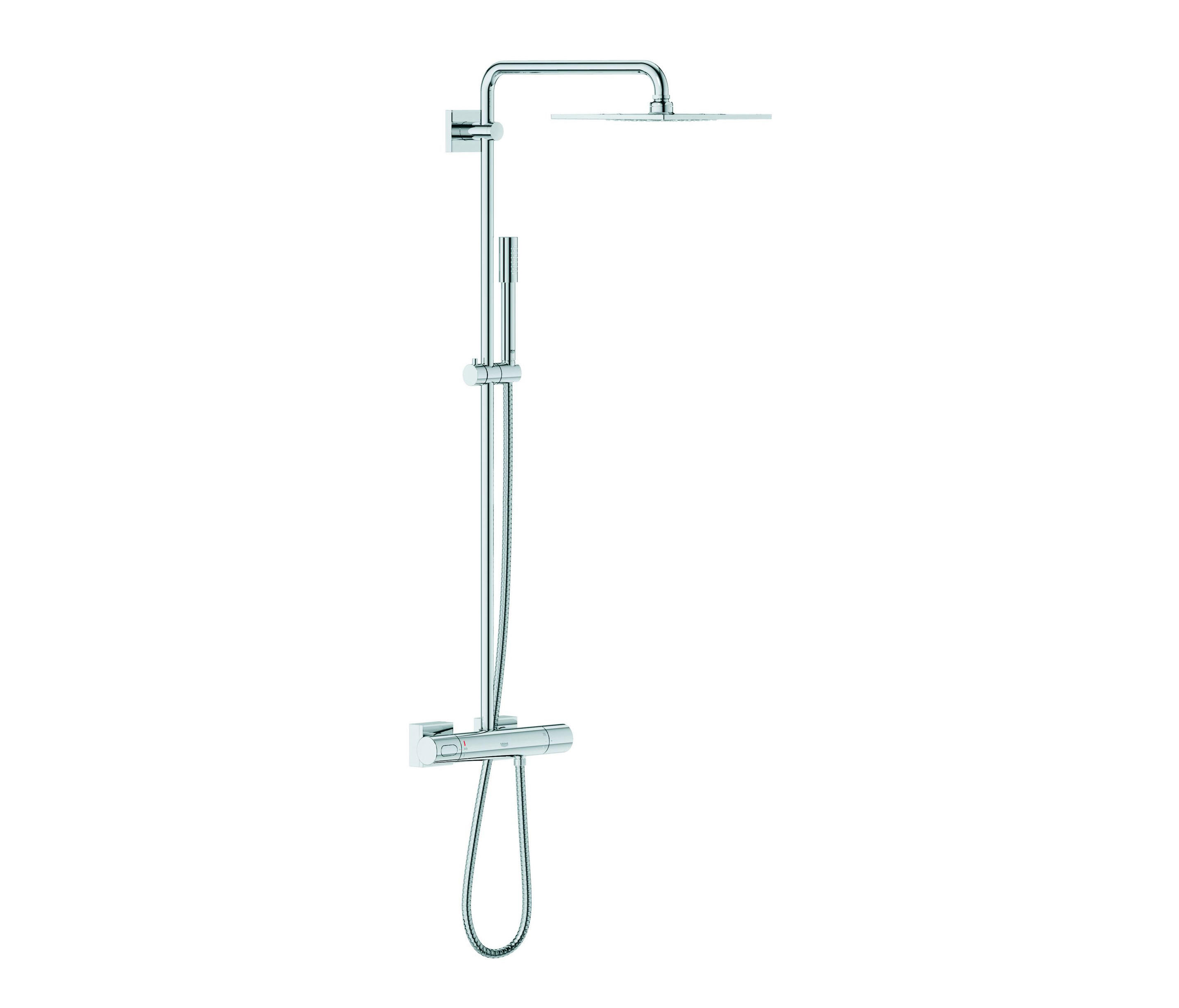 Bevorzugt RAINSHOWER® F-SERIES SYSTEM 254 SHOWER SYSTEM WITH THERMOSTAT PG98