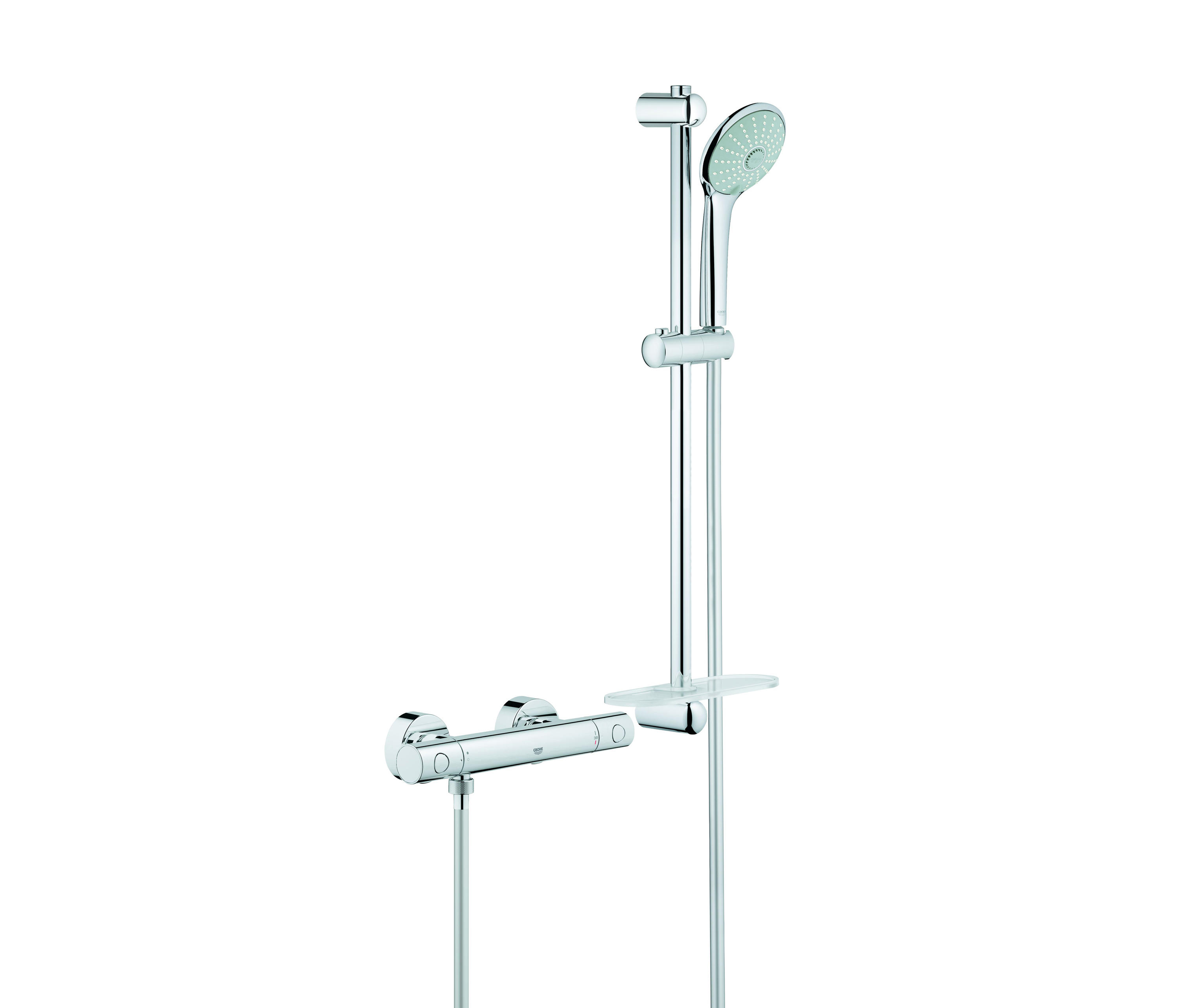 Grohtherm 1000 Cosmopolitan Thermostatic Shower Mixer 1 2 With Shower S