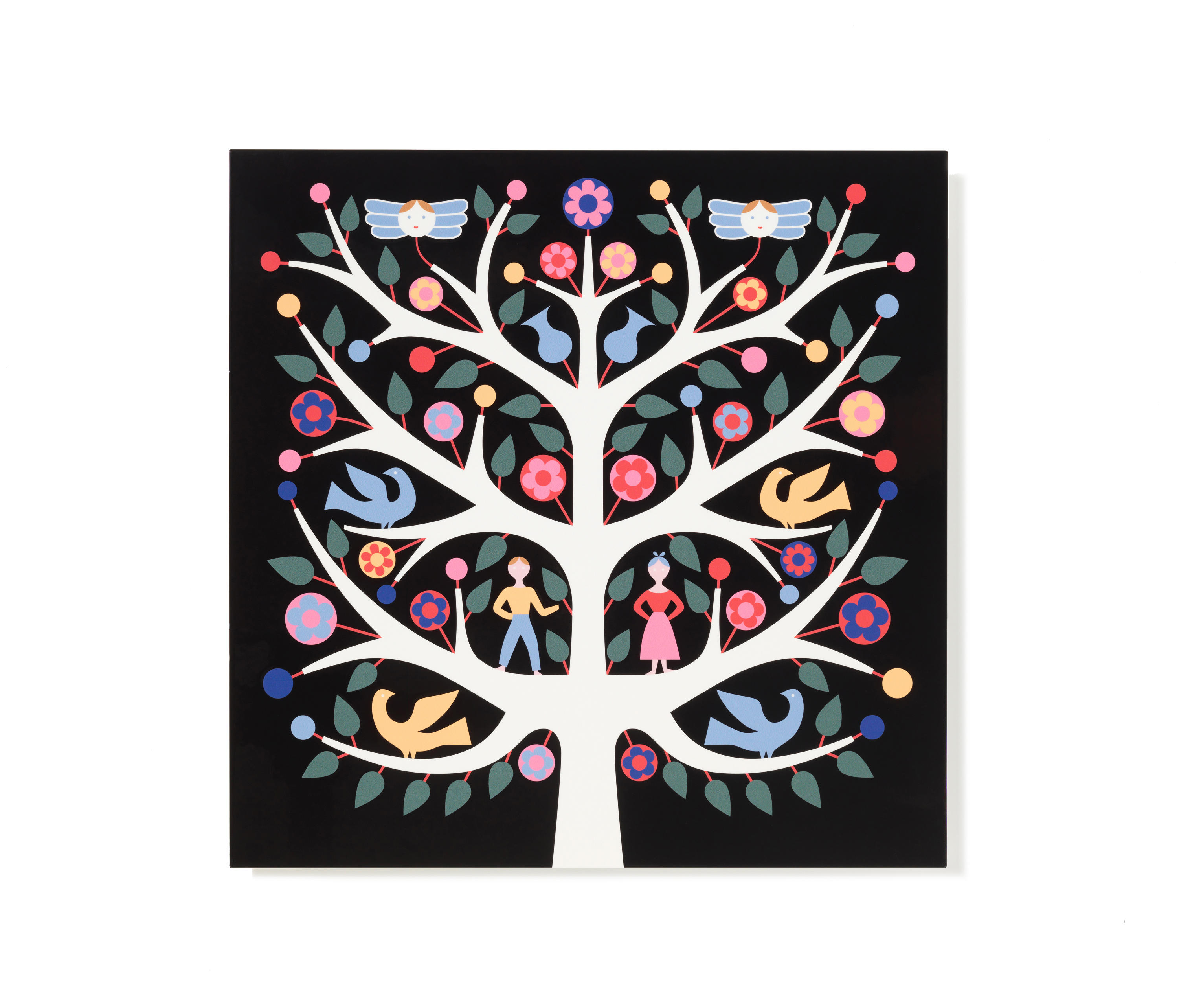 Graphic Wall Panel By Vitra | Wall Art / Murals