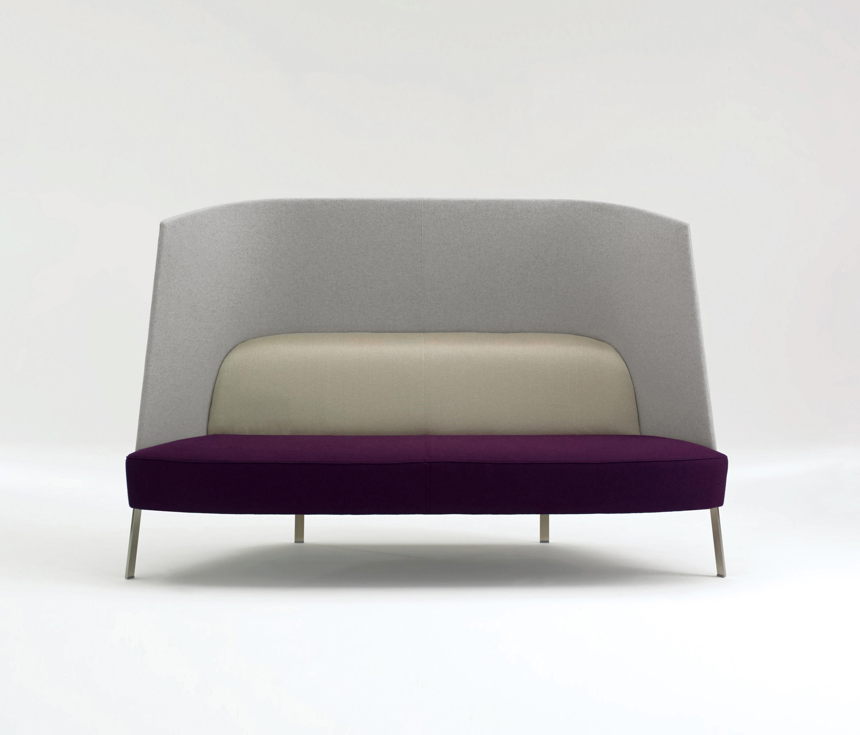 ... Fractals Seating Settee High Back By Studio TK | Sofas