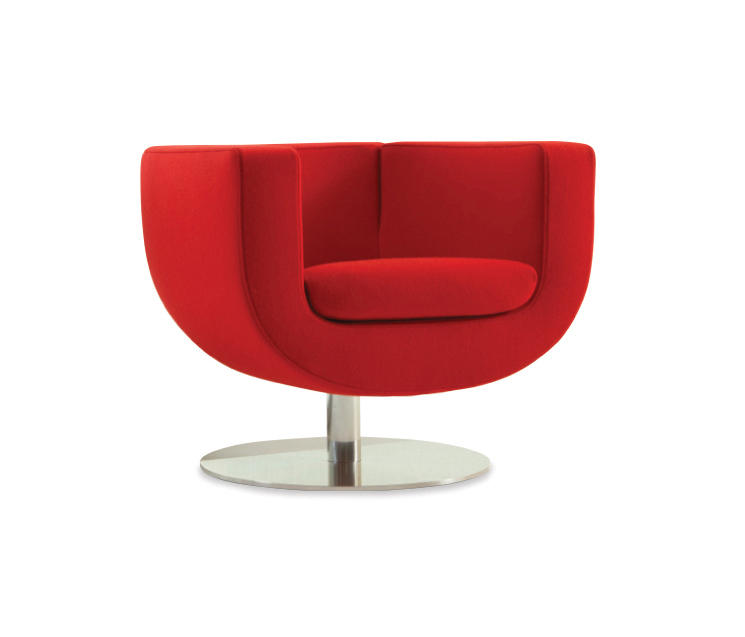 Charmant Tulip Large Swivel Lounge Chair By Studio TK | Armchairs