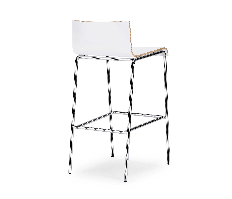 Curveis1 c120 bar stools from interstuhl b rom bel gmbh for Buero moebel