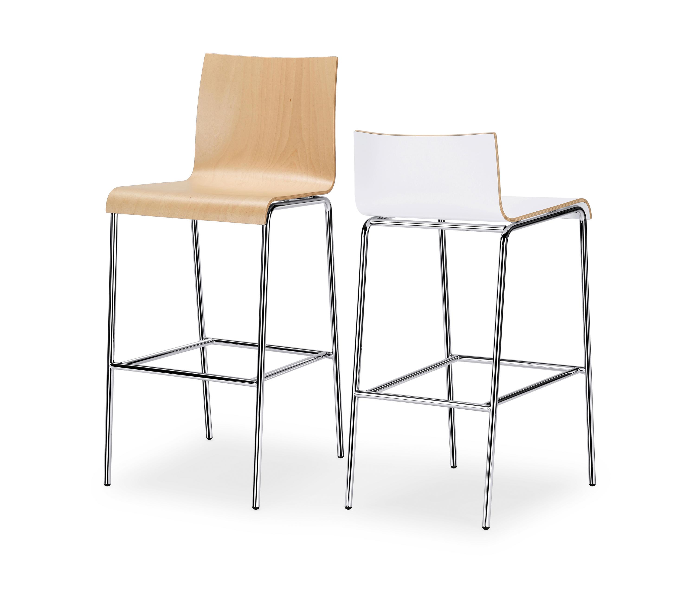 Curveis1 c130 bar stools from interstuhl b rom bel gmbh for Buero moebel