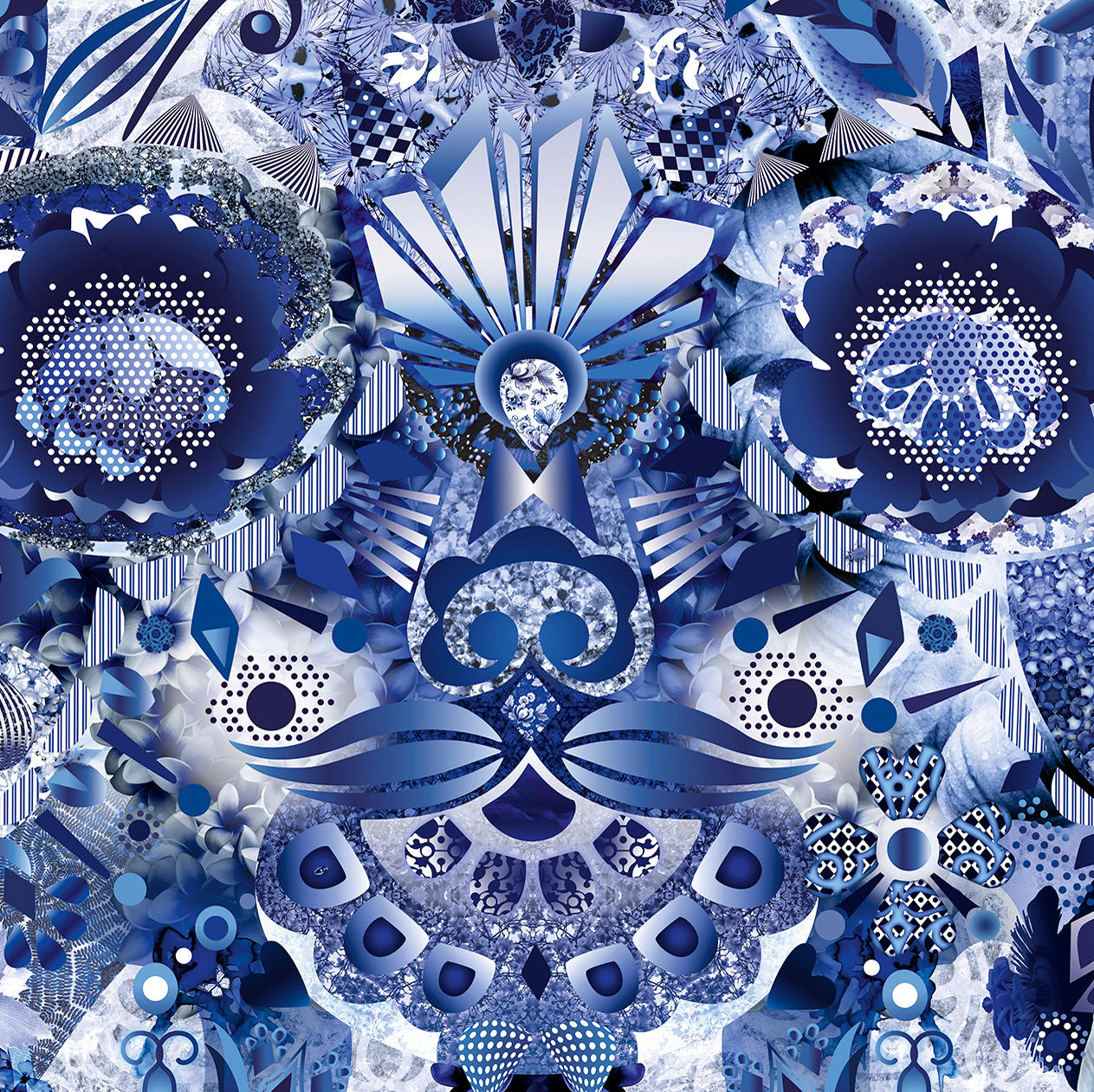 Delft Blue Broadloom Wall To Wall Carpets From Moooi
