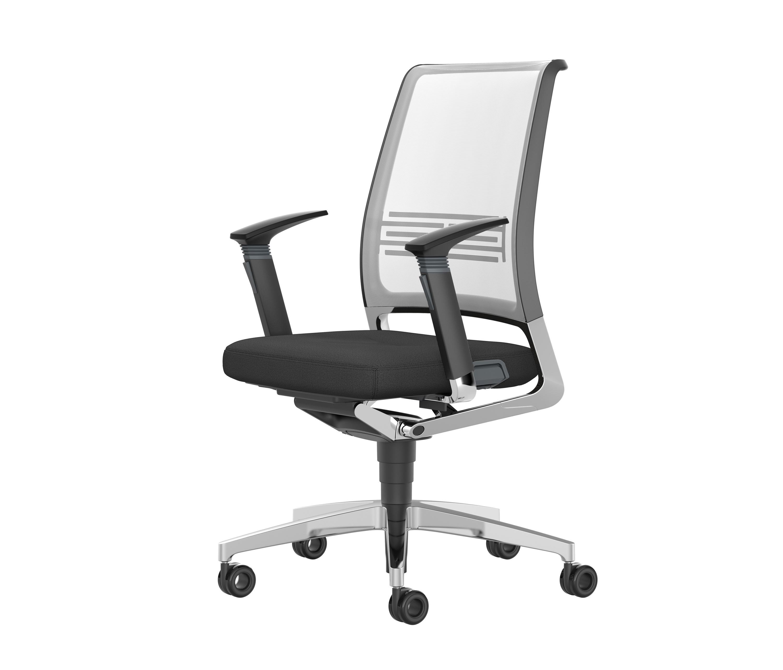 Vintageis5 17v7 task chairs from interstuhl b rom bel for Buero moebel