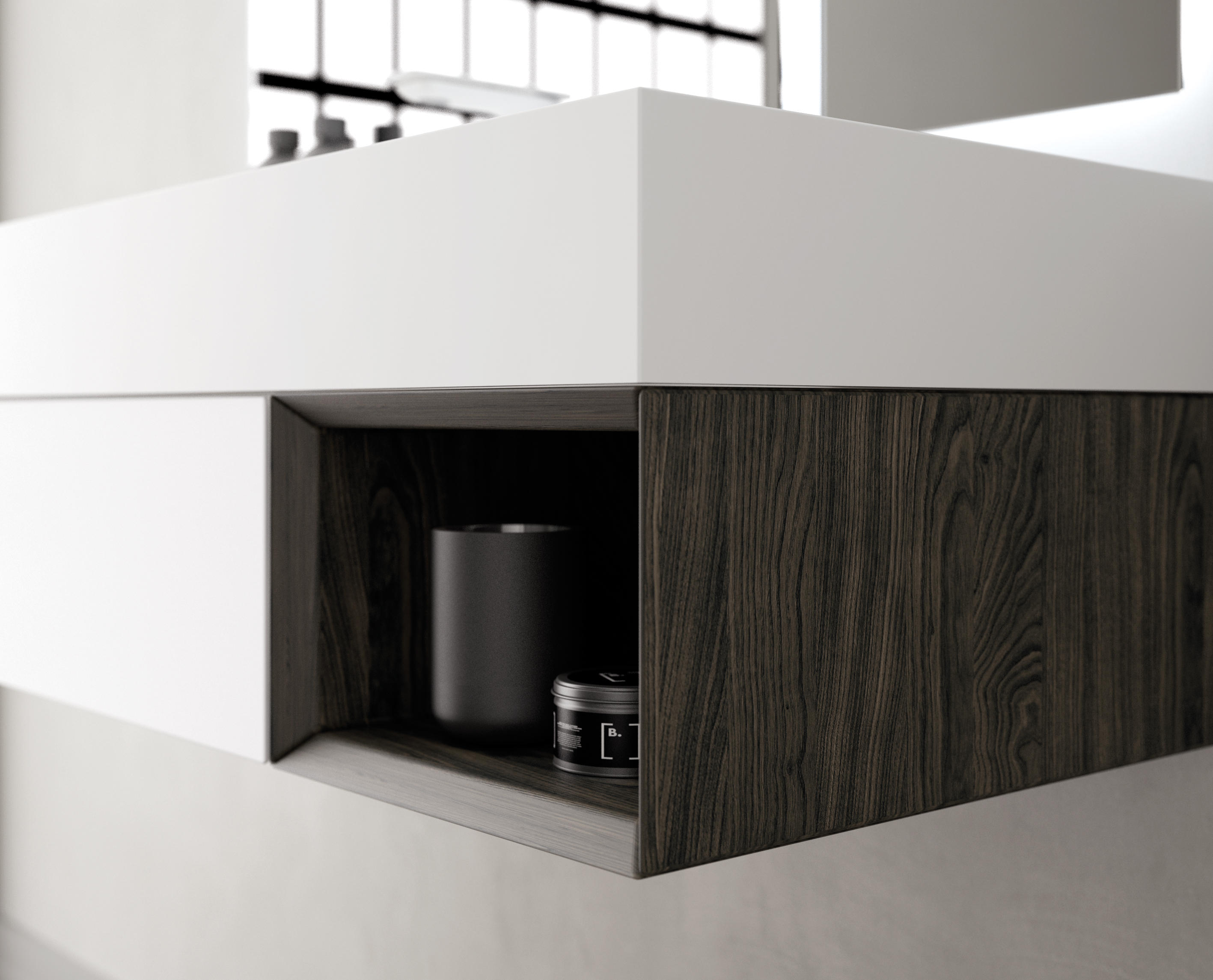 Strato bathroom furniture set 32 by inbani architonic for Bathroom furniture sets