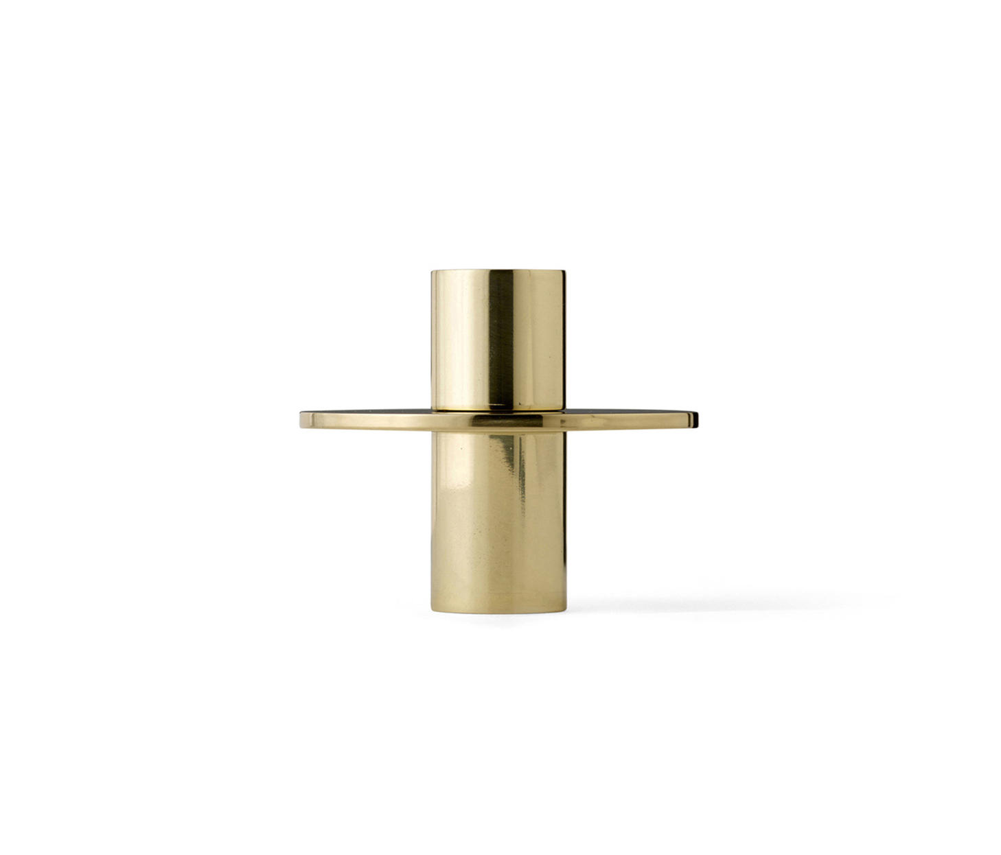 Antipode Candle Holder 01 Mirror Polished Brass By Candlesticks Candleholder