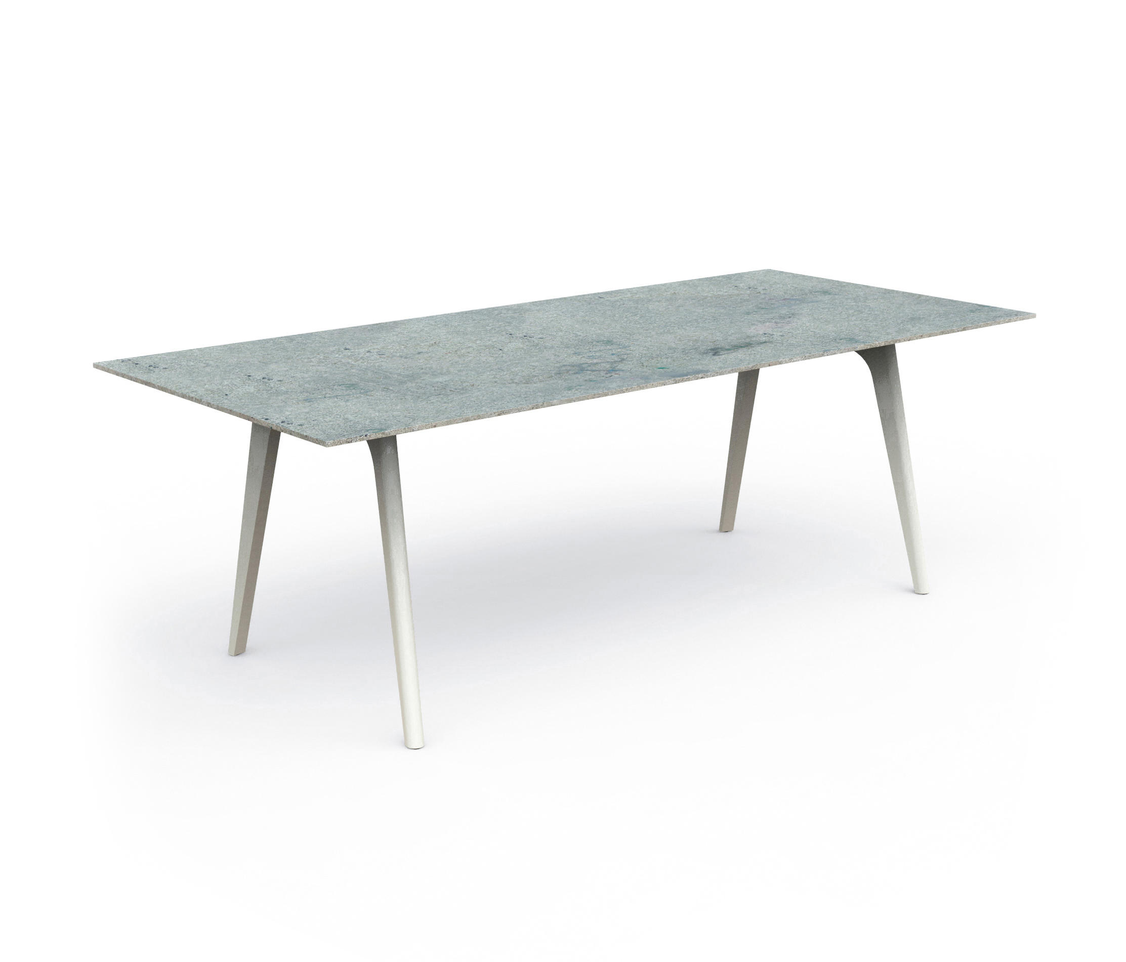 Cleo alu table 220x100 dining tables from talenti for Table 220x100