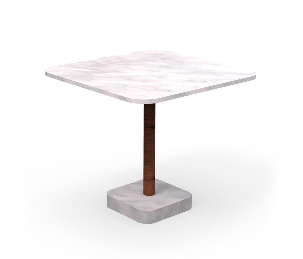 Bridge table 80x80 dining tables from talenti architonic for Table 80x80