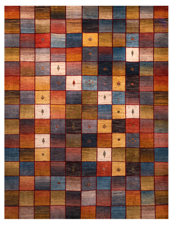 Gabbehs Geometric Squares Revisited 13 Rugs Designer