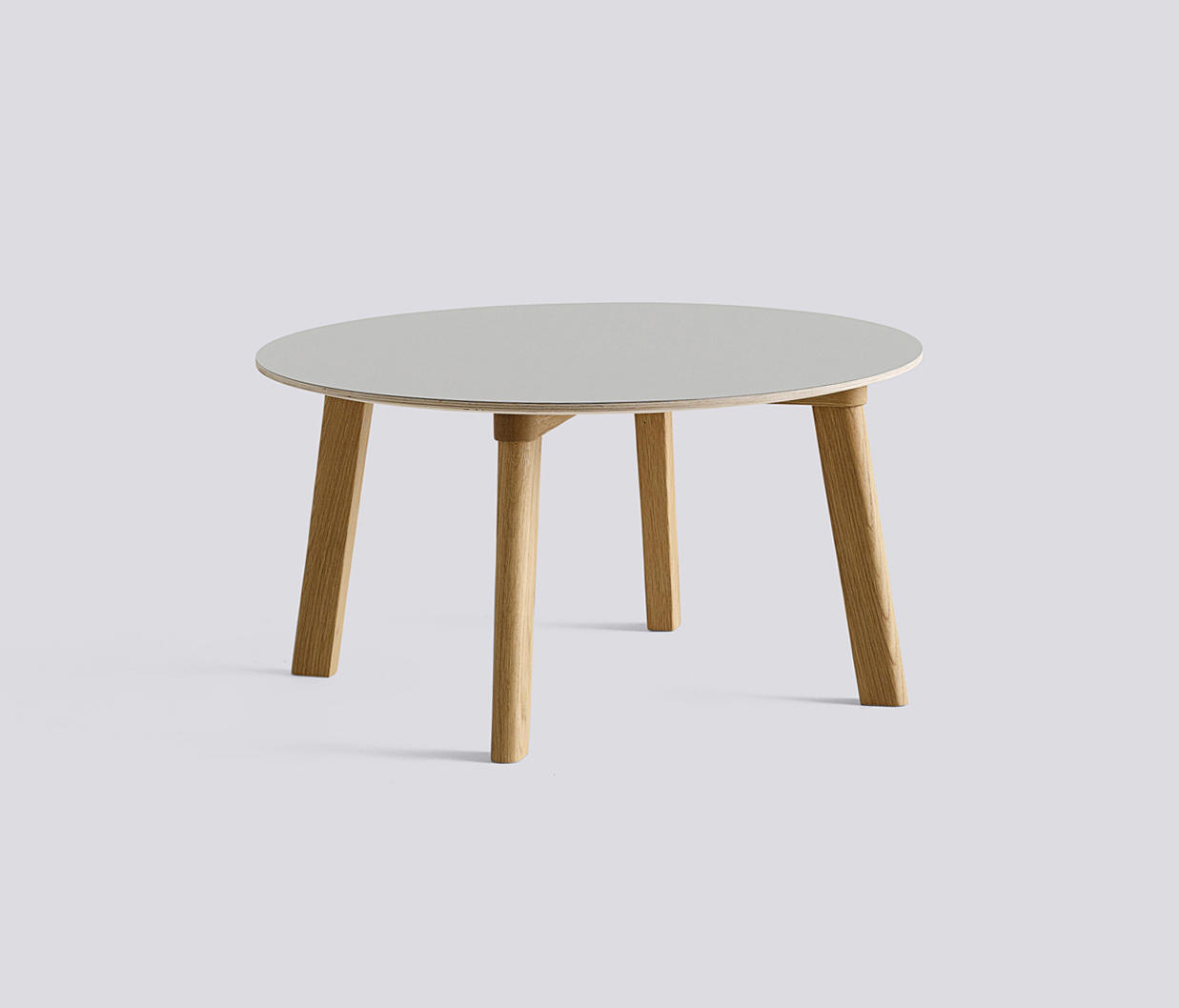 Copenhague deux table cph250 lounge tables from hay for Table khi deux