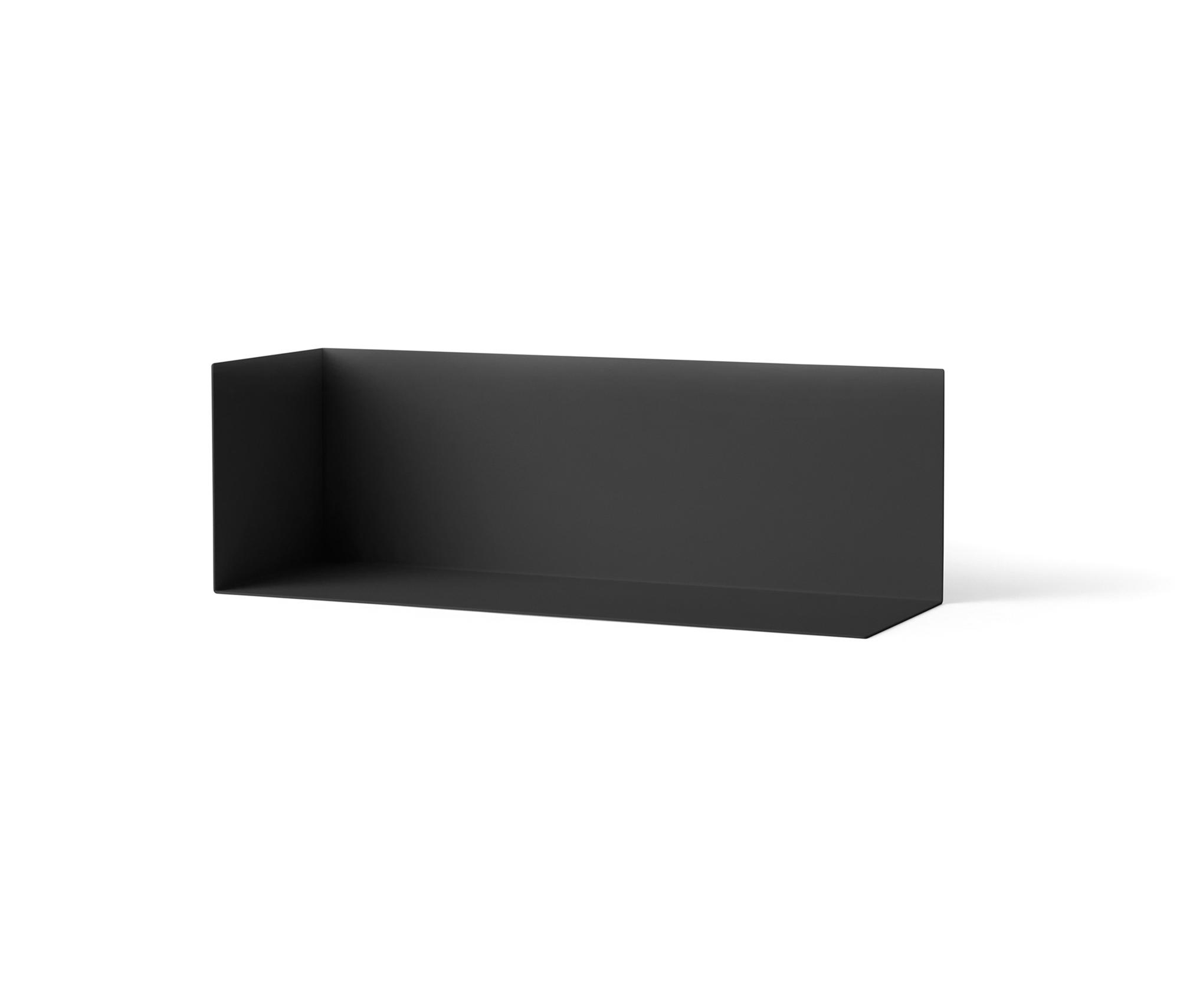 Corner Shelf Wall L Black Shelves From Menu Architonic