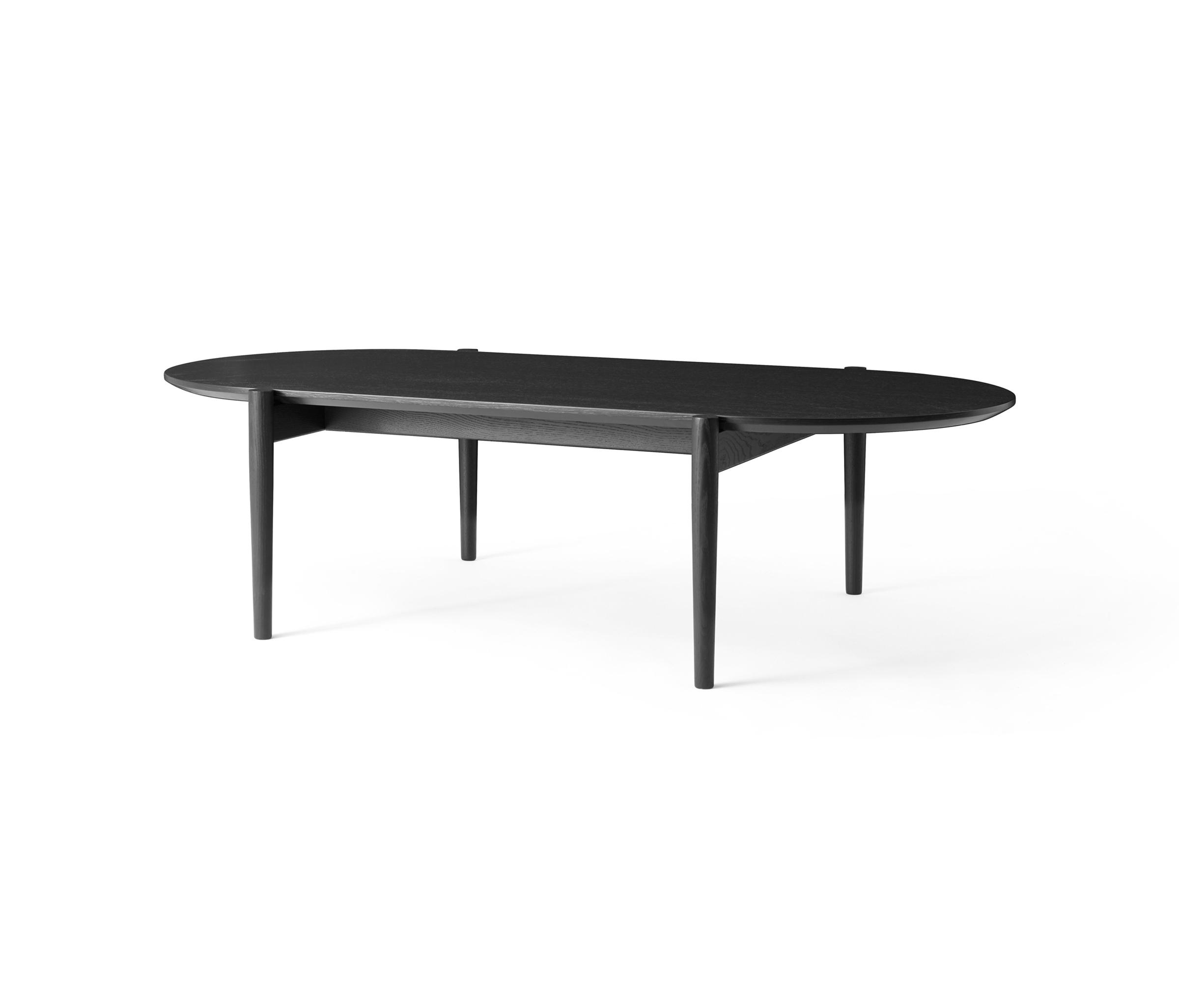 SEPTEMBRE COFFEE TABLE BLACK Lounge tables from MENU