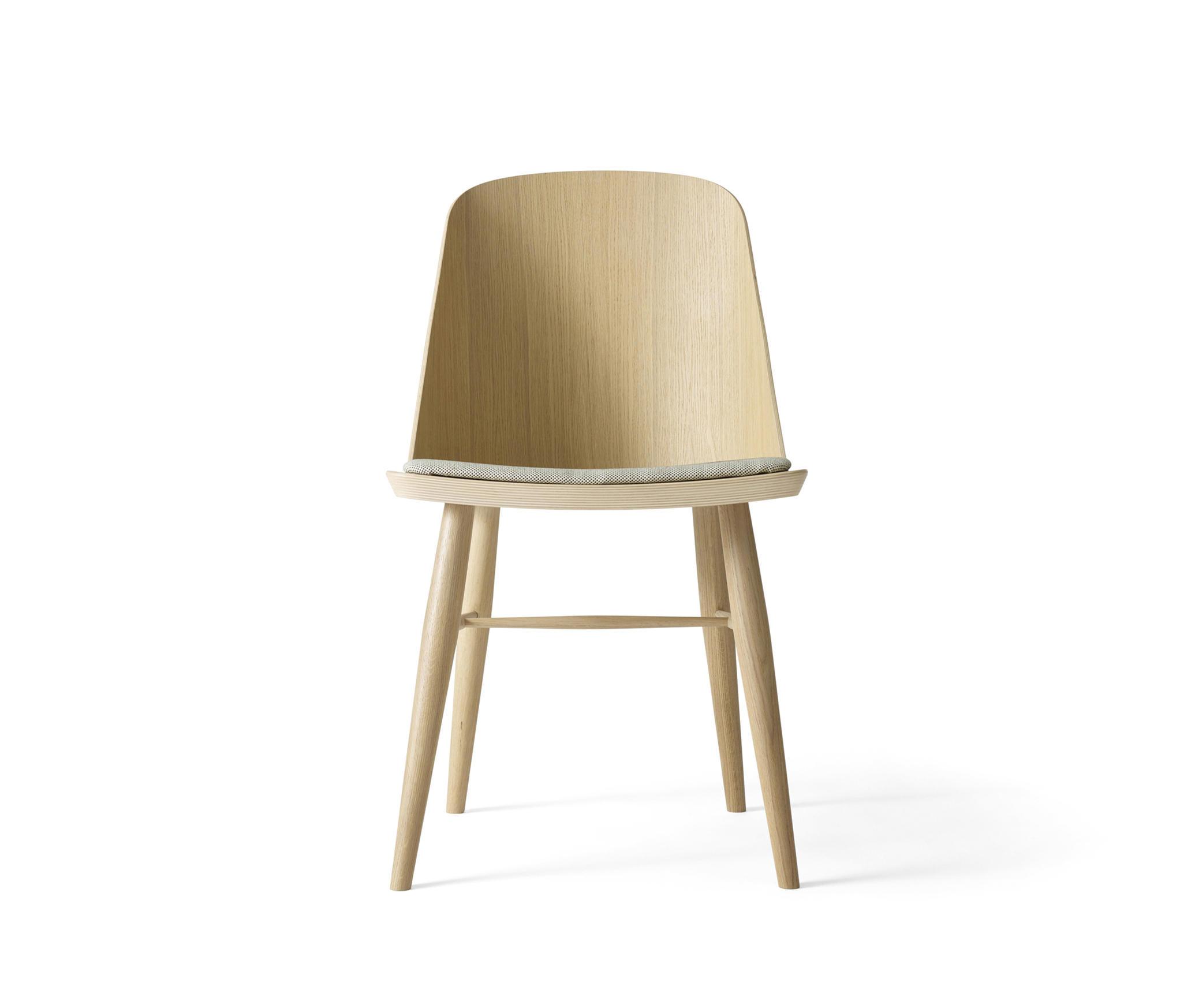 Synnes dining chair natural oak white melange