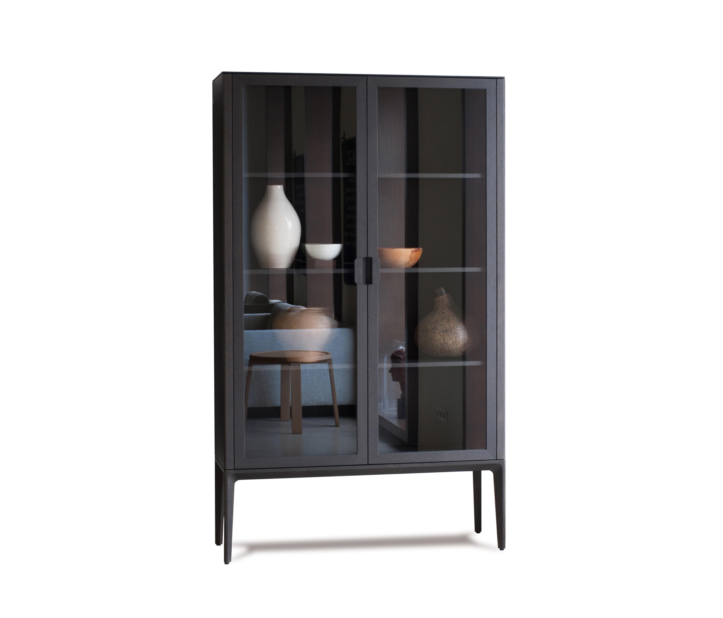 Vit ria display cabinet display cabinets from neue for Sideboard und vitrine