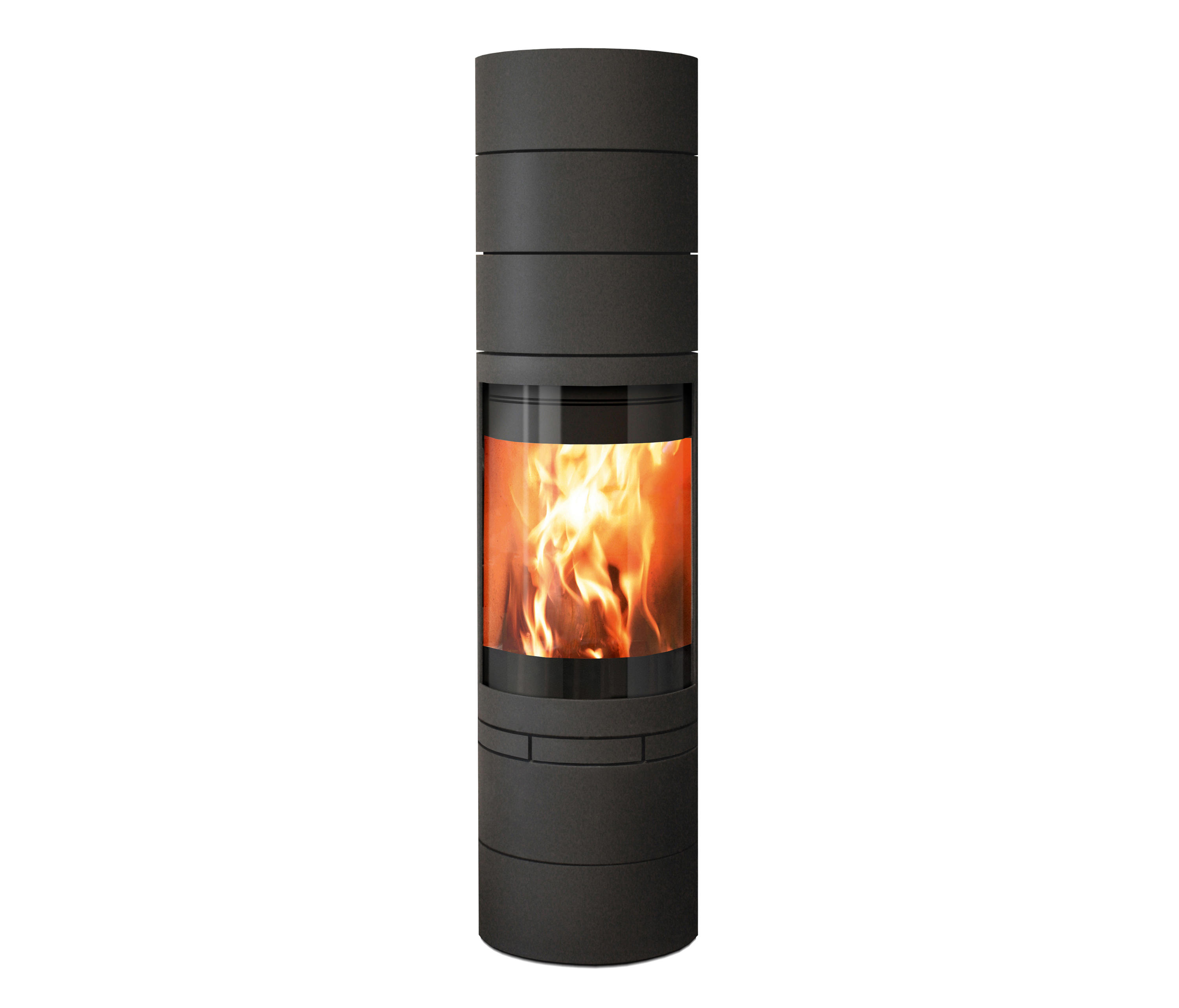 elements rund wood burning stoves from skantherm. Black Bedroom Furniture Sets. Home Design Ideas