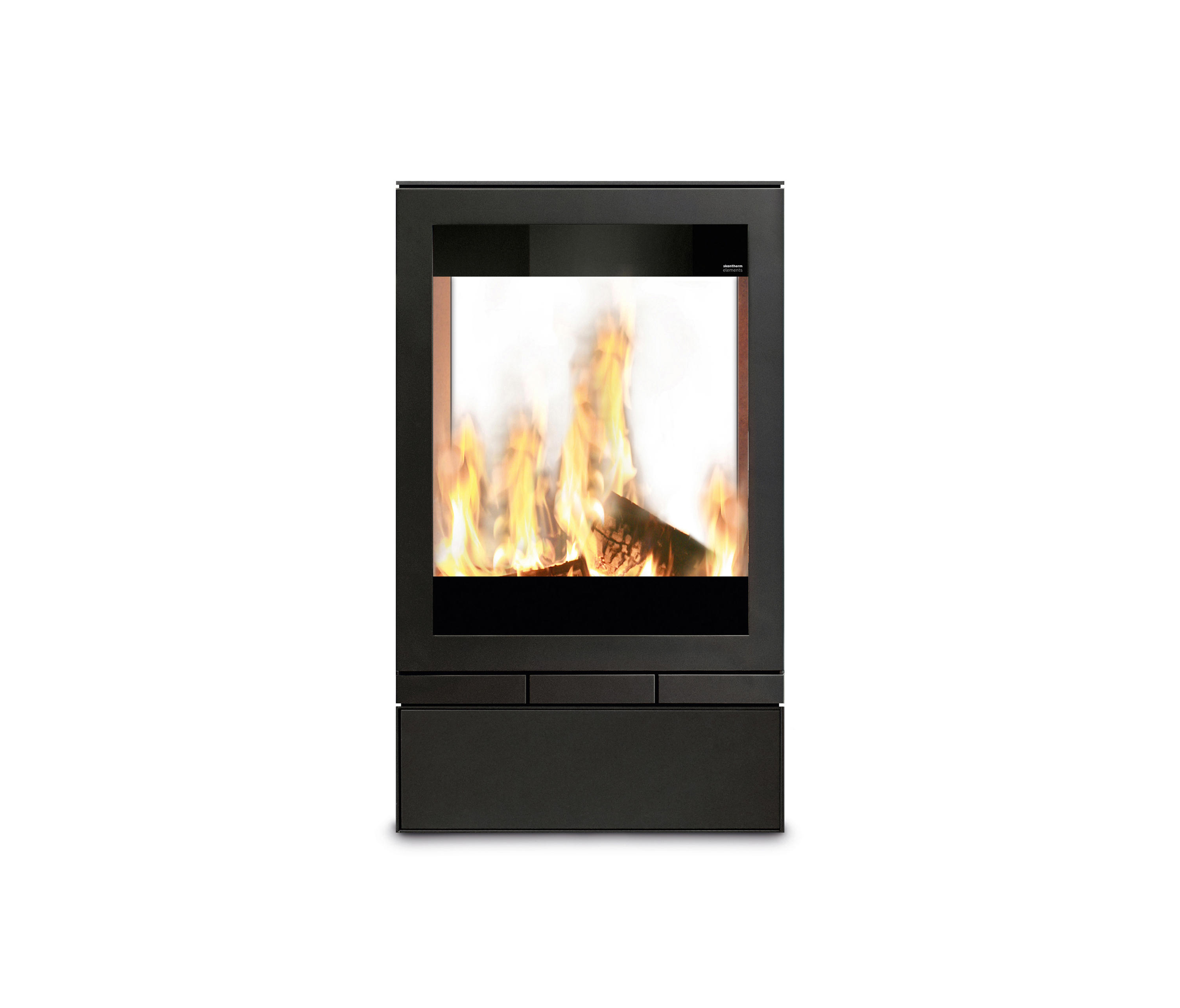 elements tunnel wood burning stoves from skantherm. Black Bedroom Furniture Sets. Home Design Ideas