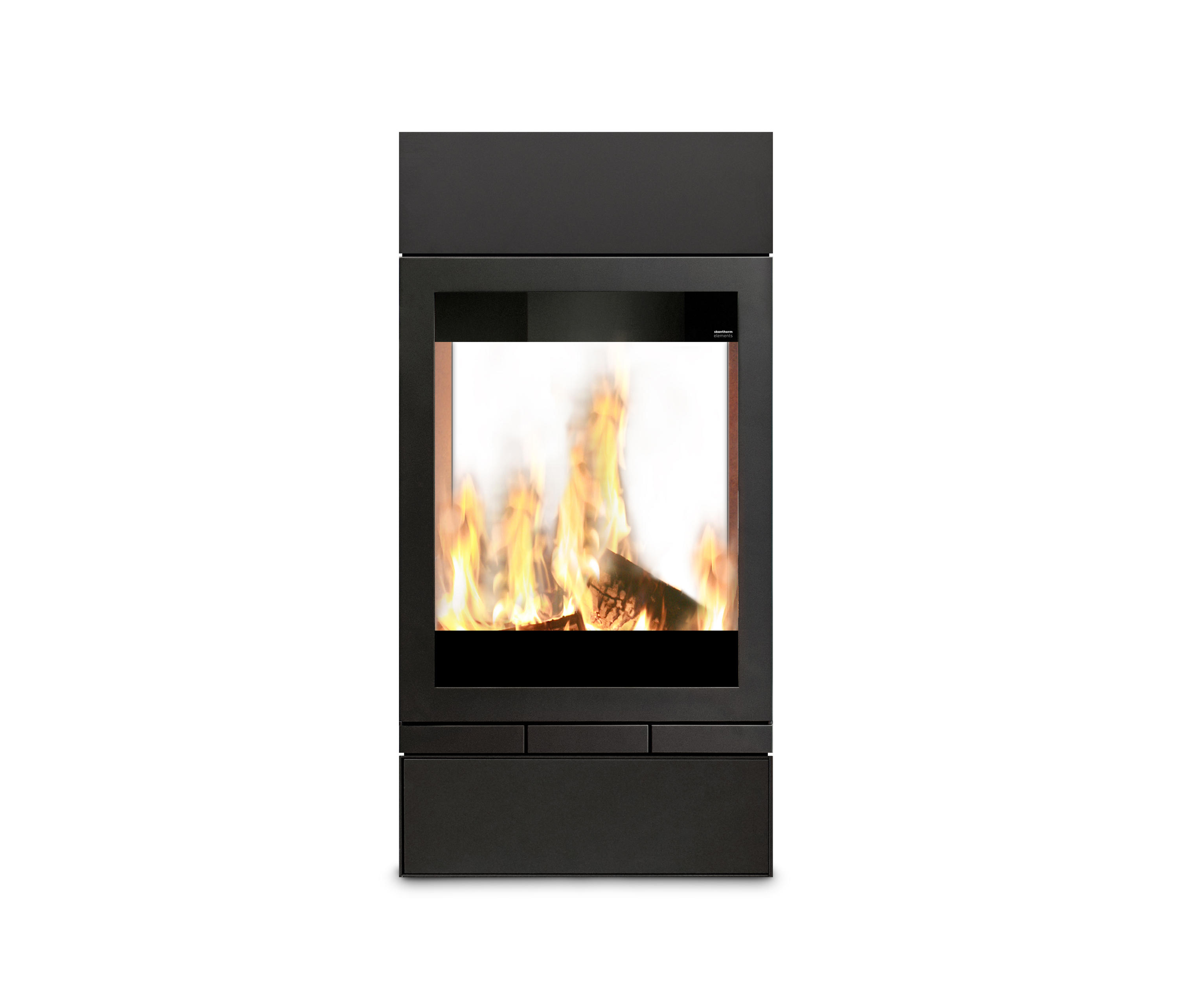 elements tunnel wood burning stoves from skantherm architonic. Black Bedroom Furniture Sets. Home Design Ideas