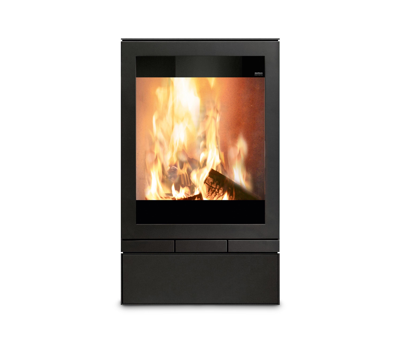 elements 603 front wood burning stoves by skantherm. Black Bedroom Furniture Sets. Home Design Ideas