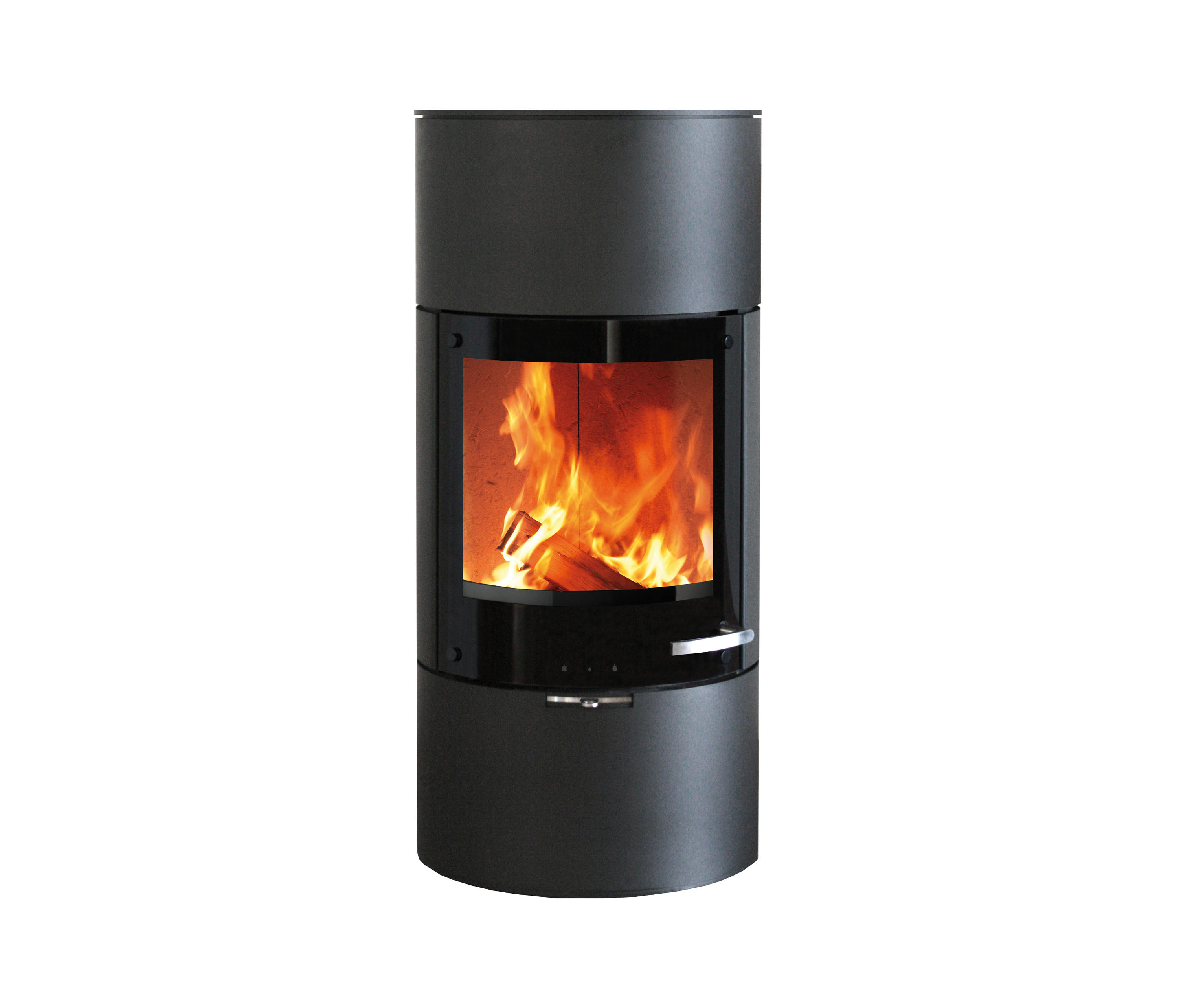 milano wood burning stoves by skantherm architonic. Black Bedroom Furniture Sets. Home Design Ideas