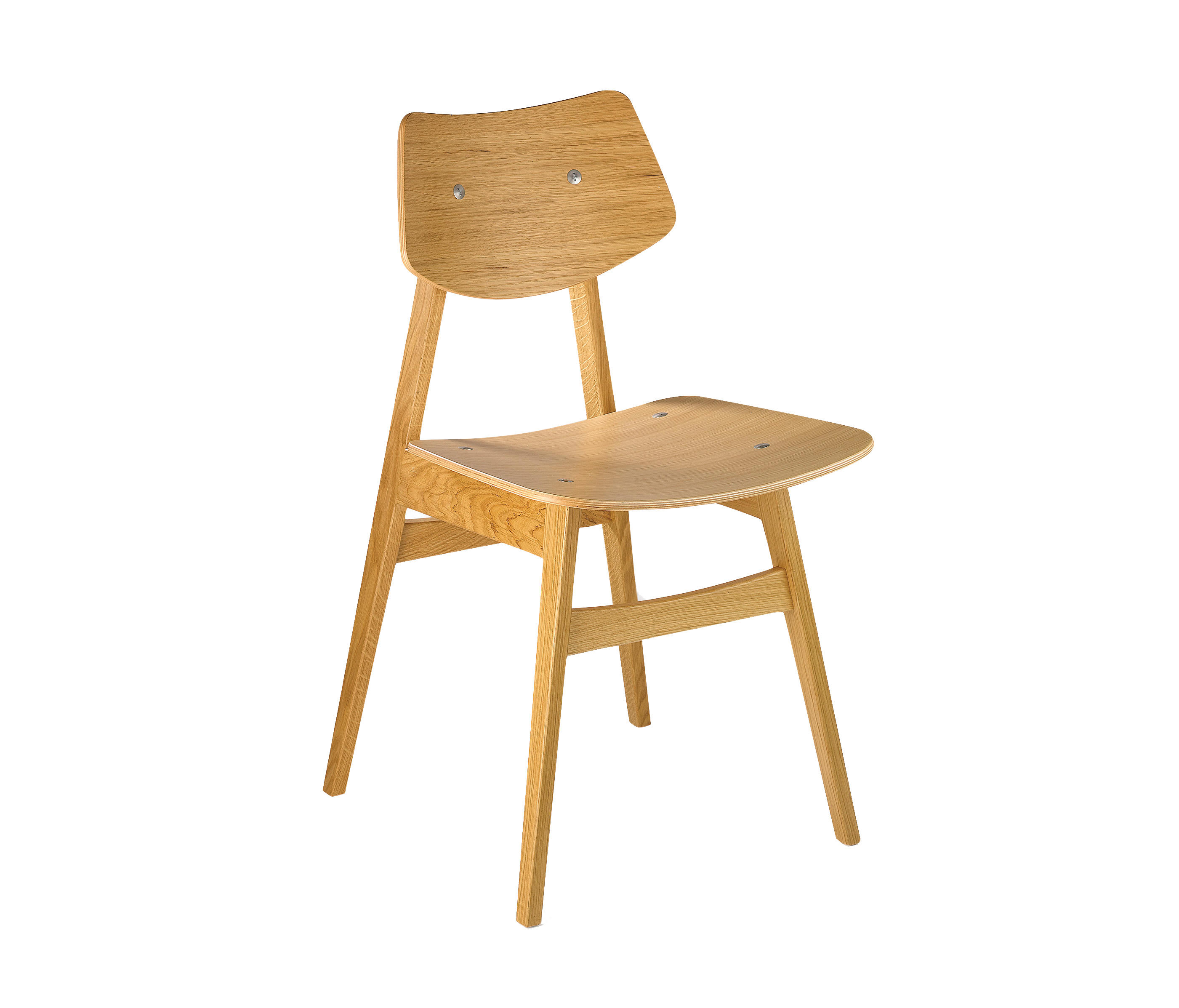 1960 CHAIR OAK Visitors chairs Side chairs from Rex Kralj
