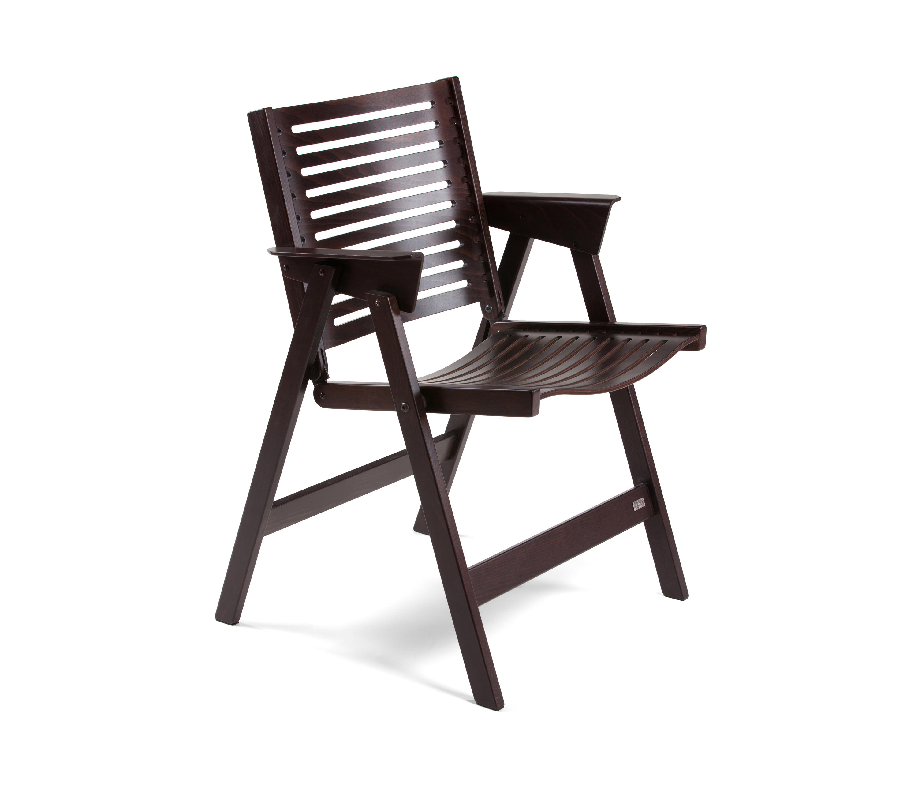 REX CHAIR DARK BROWN Garden chairs from Rex Kralj