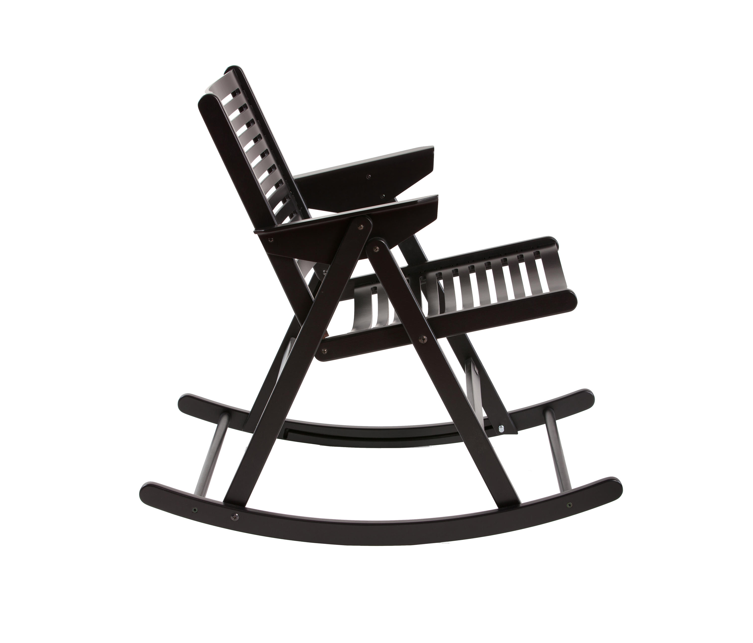 rex rocking chair black si ges de jardin de rex kralj architonic. Black Bedroom Furniture Sets. Home Design Ideas