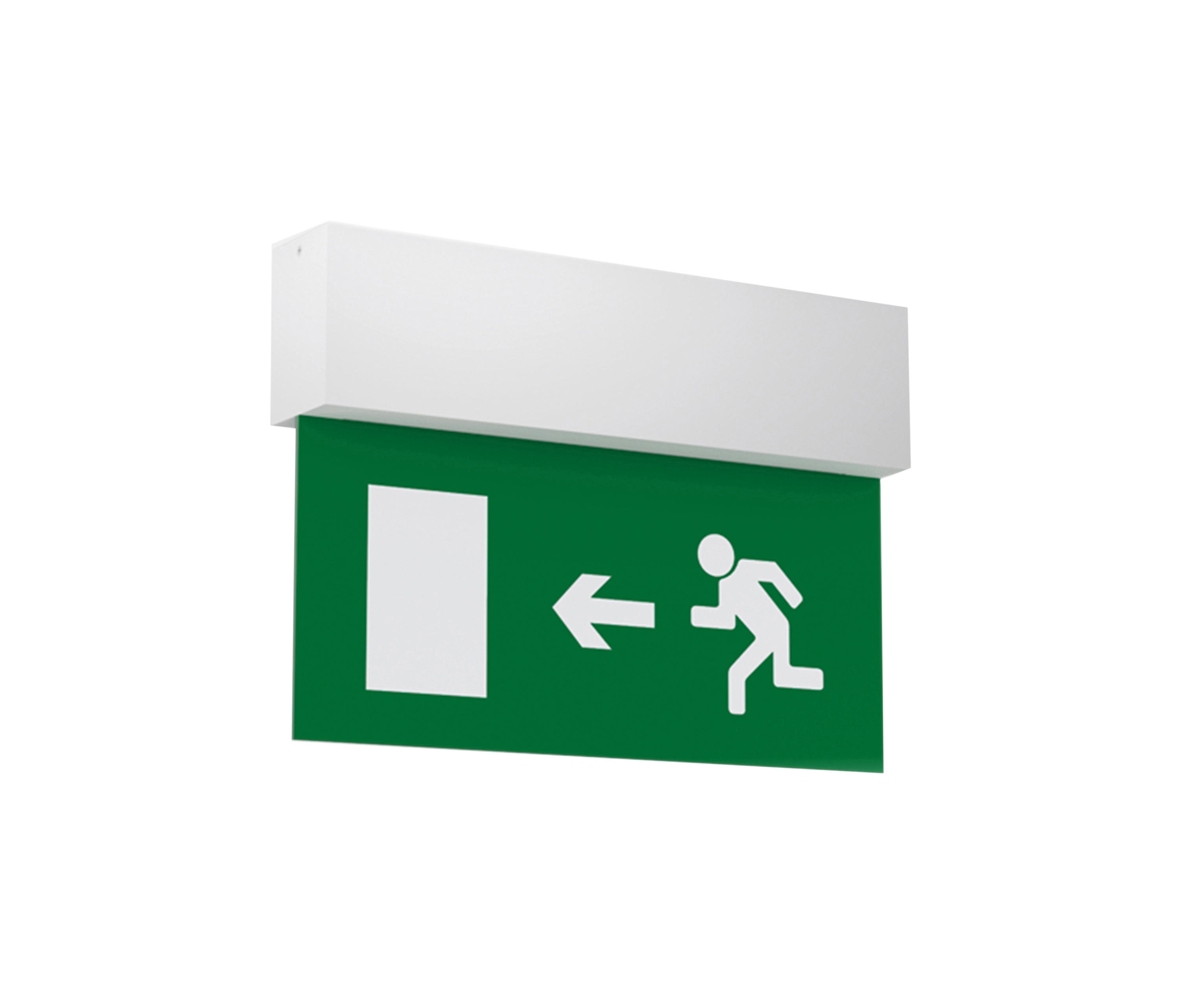 LS WALL-MOUNTED - Wall-mounted emergency lights from O/M Architonic