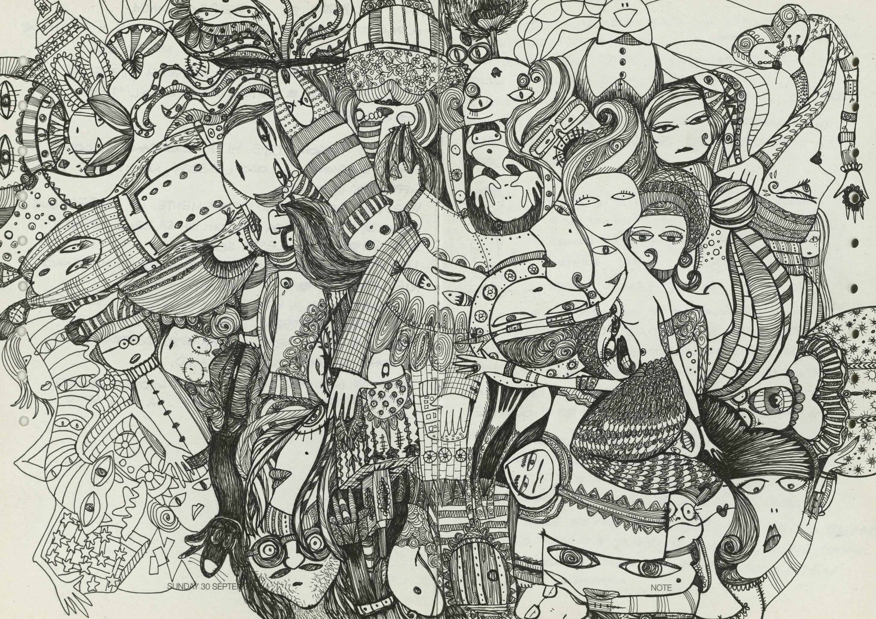 DOODLE - Wandbilder / Kunst von TECNOGRAFICA   Architonic