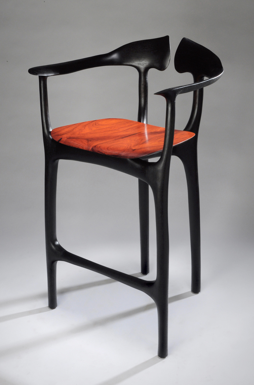 Swallowtail bar stool barhocker von brian fireman design for Barhocker englisch