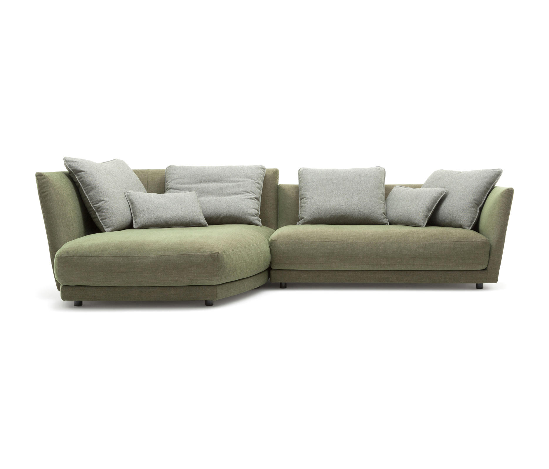 Rolf benz tondo modular sofa systems from rolf benz for Rolf benz ledergarnitur