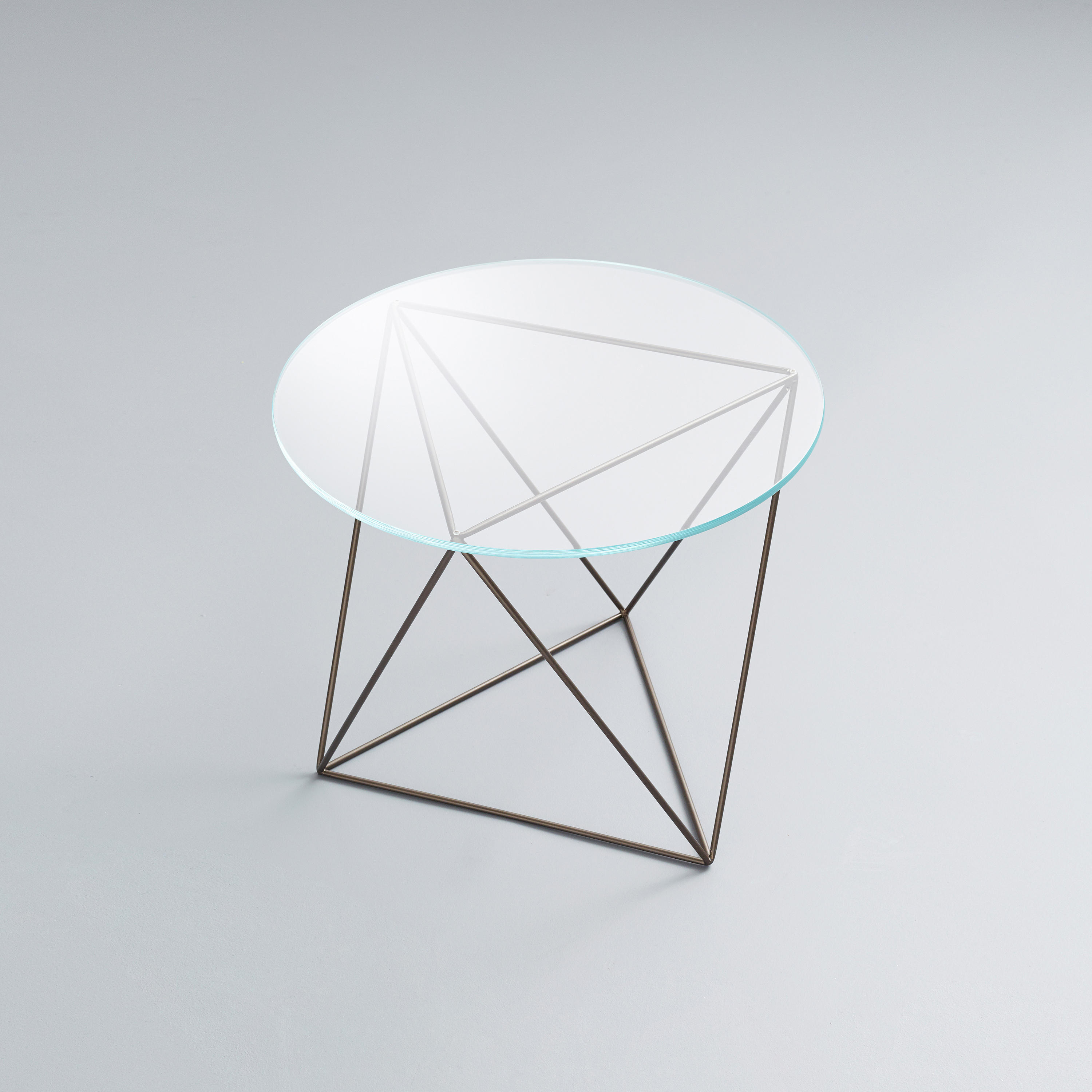 Dia | Glass End Table By Stylex | Side Tables
