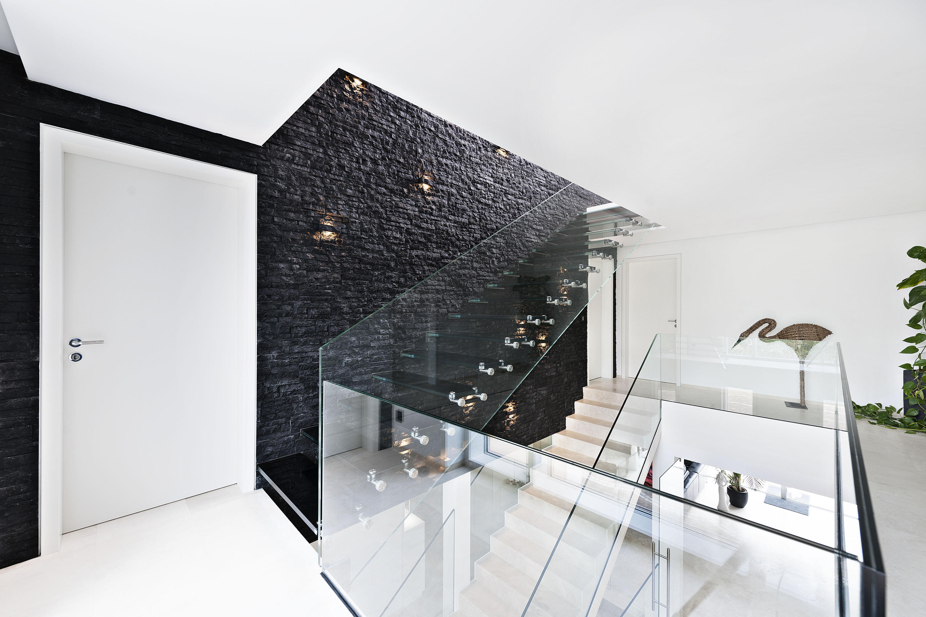 MISTRAL BLACK - Glass stairs from Siller Treppen | Architonic