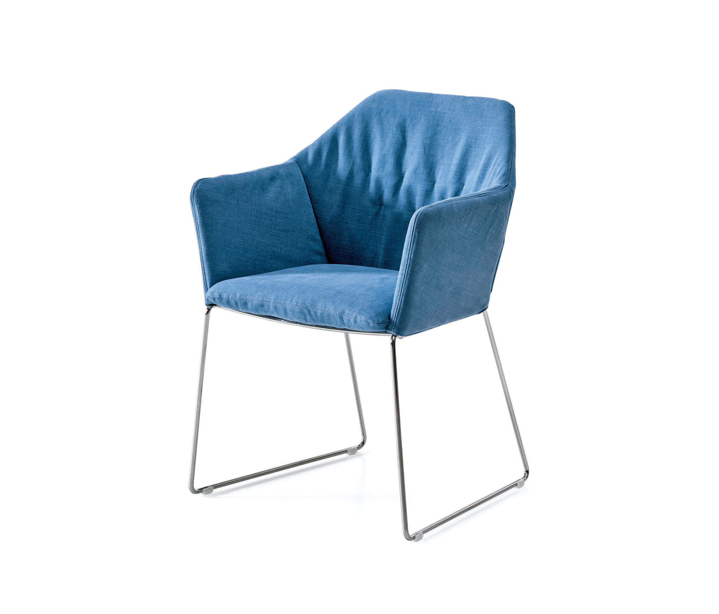 NEW YORK CHAIR WITH ARMRESTS - Visitors chairs / Side chairs from ...