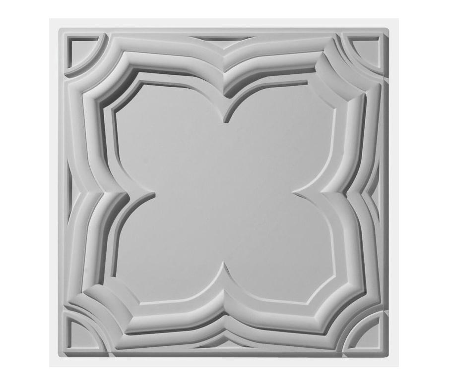 Gothic Tegular Ceiling Tile Mineral Composite Panels From Above