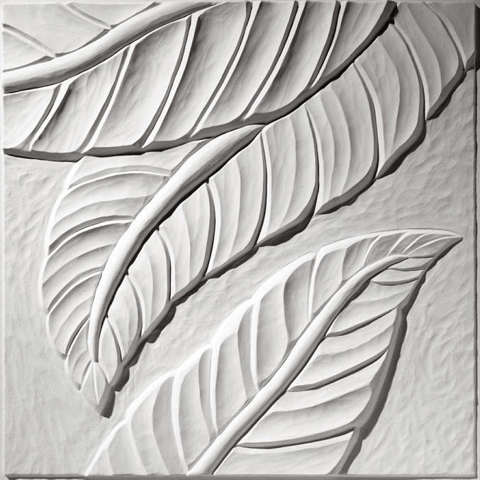 Palm Leaf Ceiling Tile Mineral Composite Panels From