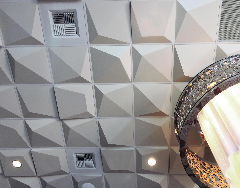 Pyramid 4 Ceiling Tile Amp Designer Furniture Architonic