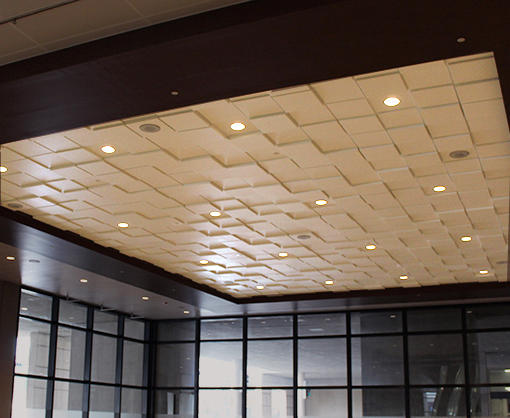 Square Drop 1 Ceiling Tile Architonic