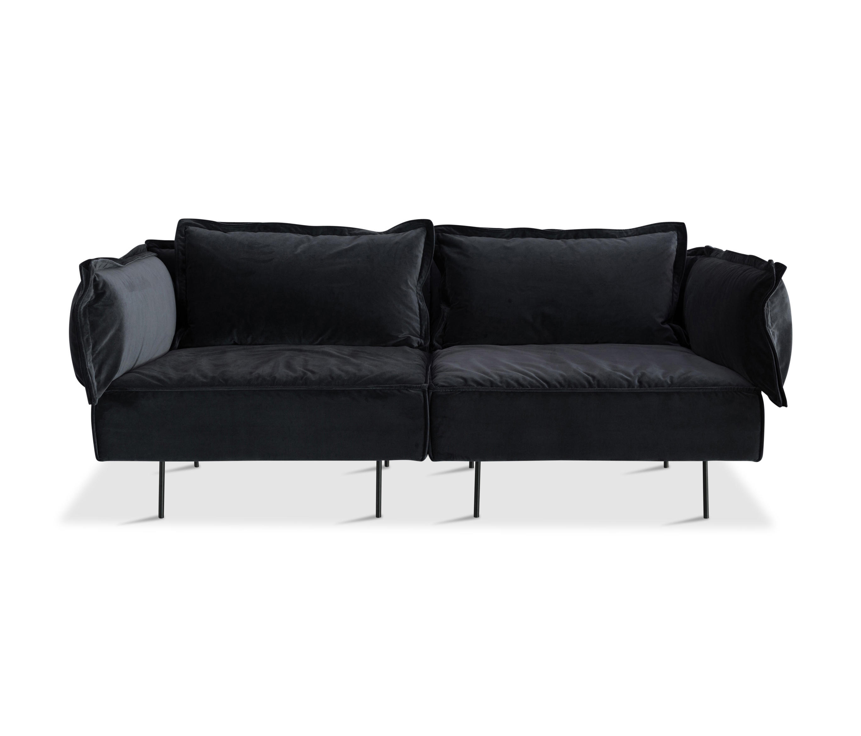 2 Seat Sofa Dark Grey Lounge Sofas From Handv Rk