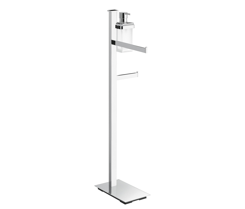 Floor standing column toilet stands from colombo design for Floor pillars