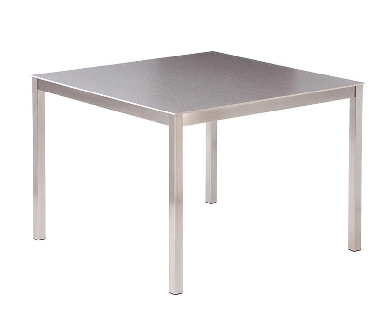 Equinox dining table 100 square with ceramic top for 100 square table