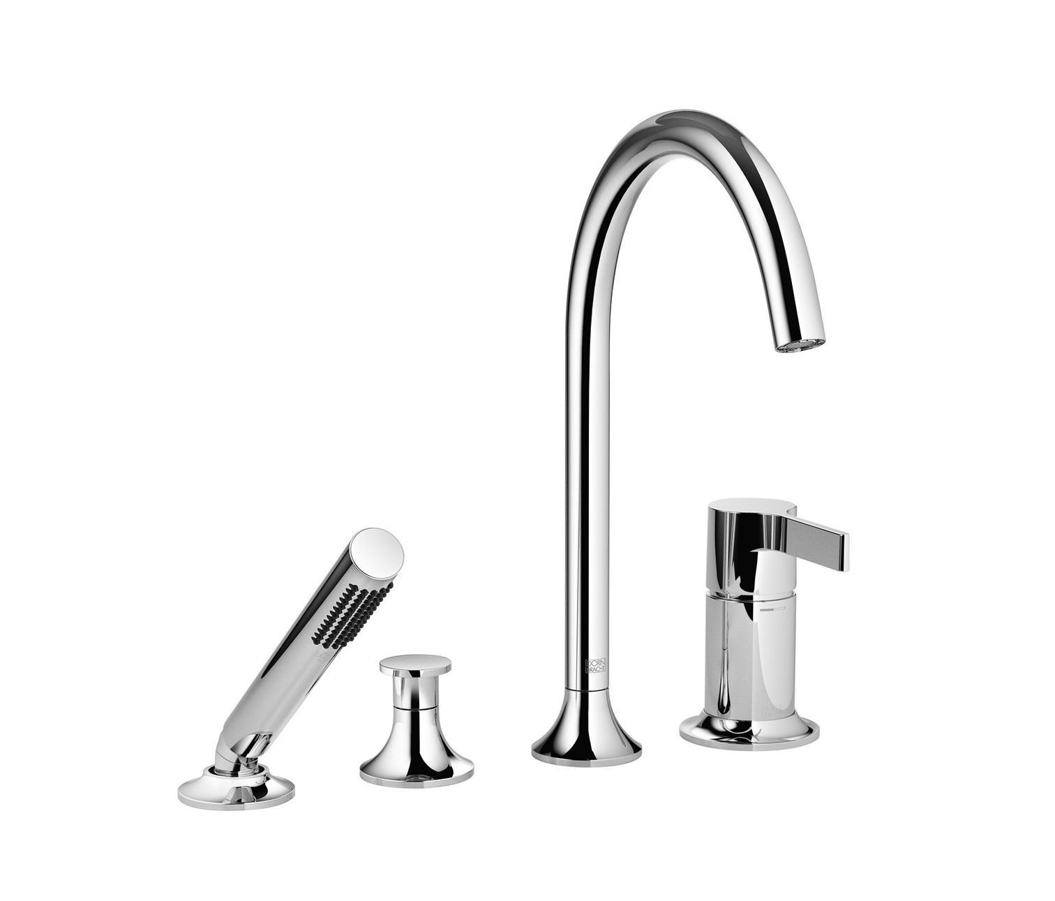 vaia four hole single lever bath mixer bath taps from. Black Bedroom Furniture Sets. Home Design Ideas