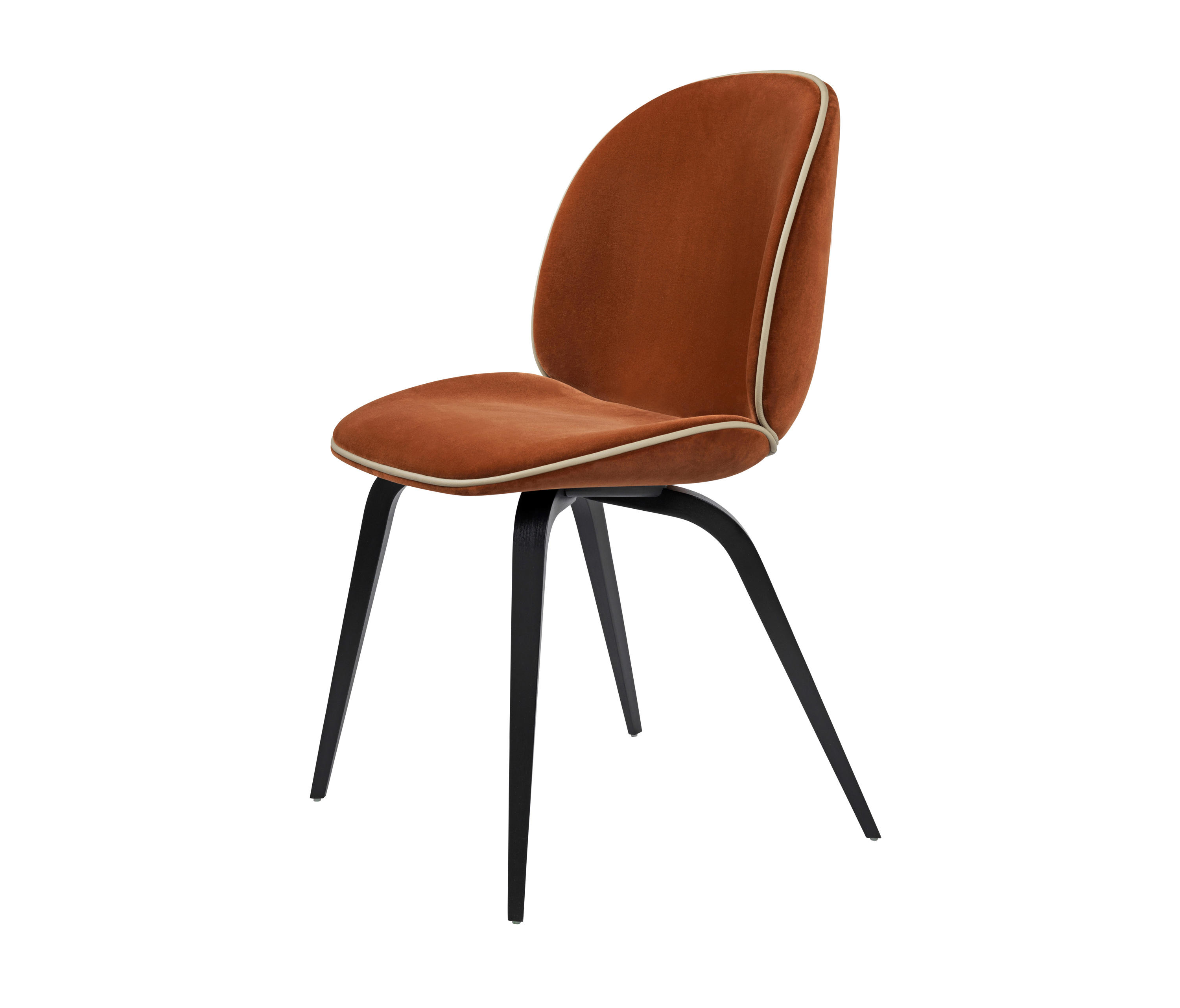 beetle chair wood base chairs from gubi architonic. Black Bedroom Furniture Sets. Home Design Ideas