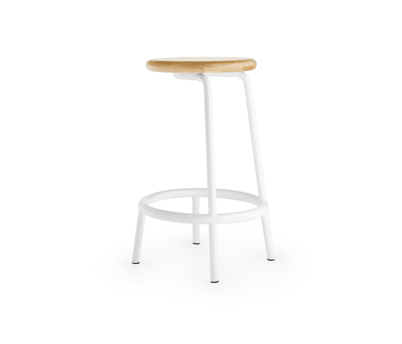 Astonishing Volar 650 White Bar Stools From Les Basic Architonic Machost Co Dining Chair Design Ideas Machostcouk